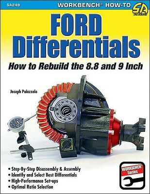 S-A Books Ford Differentials: How To Rebuild The 8.8 And 9 Inch Part Number 249