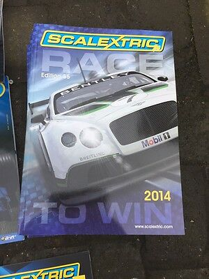 Scalextric Race To Win 2014 Catalogue/Manual Edition 55 C8177 Brand New