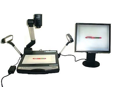 Samsung SDP-900DXA XGA Digital Document Camera Presenter 12x Optical Zoom