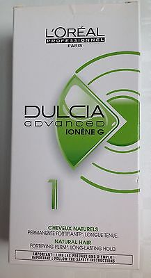 L'oreal Professionnel Dulcia Advanced Ionene G 1 Fortifying Perm ~ Natural Hair