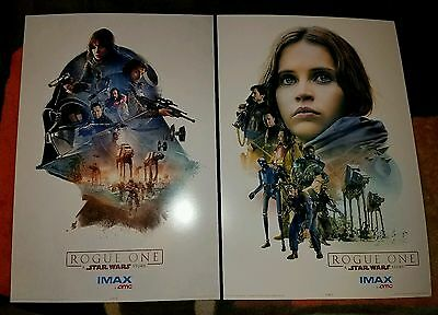 Star Wars Rogue One Amc Stubs Promo Imax Posters (2 Of 3)