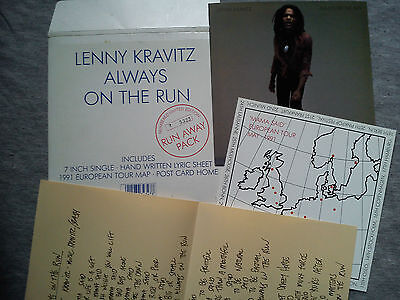 "Lenny Kravitz – ""always On The Run"". Run Away Pack – Numbered Limited Edition"
