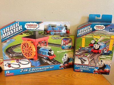 Fisher-Price Thomas & Friends Trackmaster 2-in-1 Destination Set & Switches Pack
