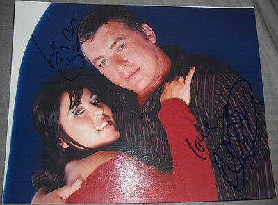 Eastenders Jessie Wallace & Shane Richie Authentic Signed 10 x 8 Photograph