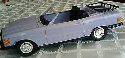 BARBIE CAR maxie purple convertable car 80s vintage 1983 meritus industries