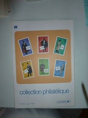 1996 Sep/Dec La Poste collection of French stamps issue