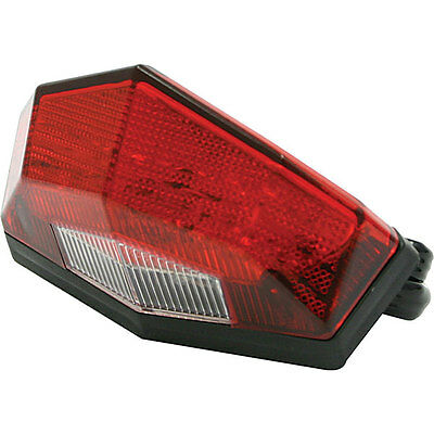 Red DRC Edge 2 Tail Light - D45-29-347