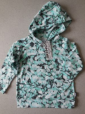 'bonds' Baby Girl Boy Lightweight Hoodie Top Size 1 Fits 12-18M * New * Gift