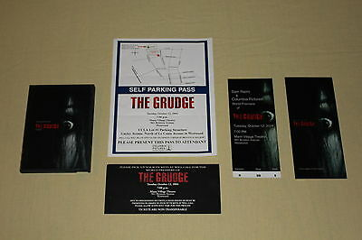 THE GRUDGE premiere + screening tickets digital press kit Sarah Michelle Gellar