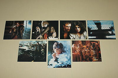 BLADE RUNNER - set 7 lobby cards 8x10 Harrison Ford Rutger Hauer Sean Young