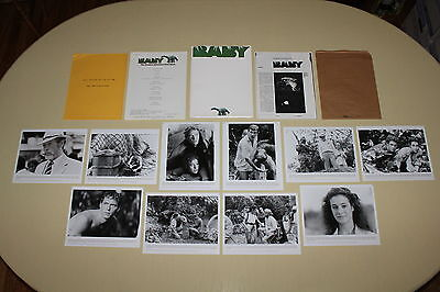 BABY SECRET OF THE LOST LEGEND press kit 10 photos Sean Young dinosaurs