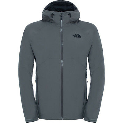 North Face Stratos Mens Jacket Coat - Fusebox Grey All Sizes