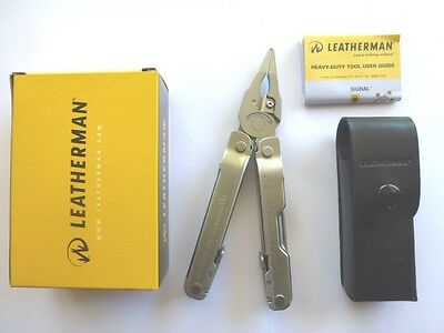 Leatherman Supertool 300 Multi Tool Knife Super Tool+Leather Sheath FREE POST