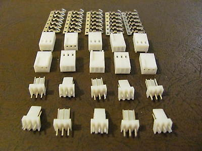 10 sets  KF2510-3P  2.54mm 3Pin Male & Female Connector & Terminal