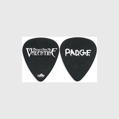 Bullet for my Valentine Michael Paget authentic 2010 tour Guitar Pick