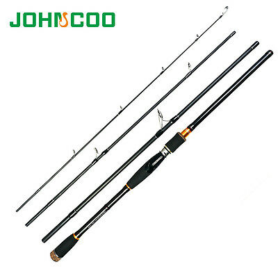 Carbon Spinning Fishing Rod Travel Rod Casting Fishing Saltwater Rod 7' 8' 9'