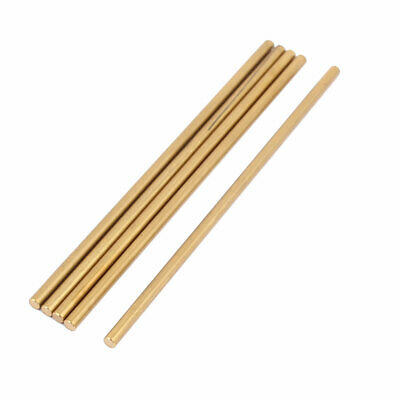 5 Pcs 3mm x 100mm RC Helicopter Part Brass Ground Shaft Round Rod