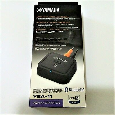 Yamaha Wireless Audio Receiver YBA-11 Bluetooth Black