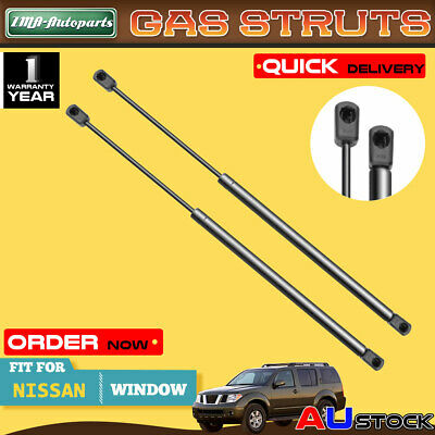 New Pair Rear Window Gas Strut for Nissan Pathfinder R50 Rear Left and Right