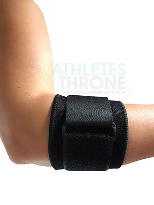 Tennis Elbow Golfer's Support Strap Epicondylitis Gym Wrap Lateral Pain Syndrome