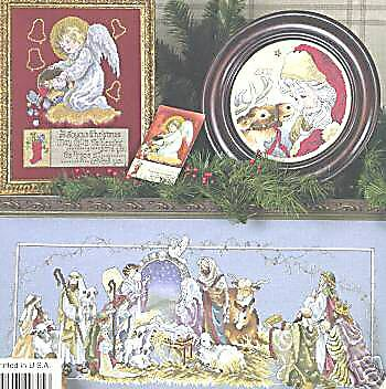 Christmas Keepsakes Cross Stitch Chart 5 Designs Stoney Creek Collection