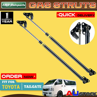 A Pair of Tailgate Gas Struts for Toyota Hiace Standard/Low Roof Van 2005-2008