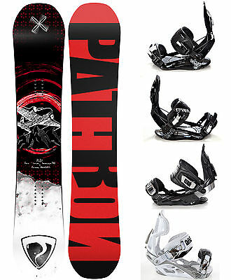 Snowboard Pathron Play Carbon 2017 + Raven Bindungen M, M/L, L oder XL - Neu!
