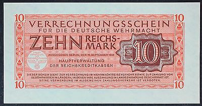 GERMANY (Wehrmacht - German Armed Forces) 10 Reichsmark 1944 - UNC