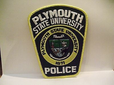 police patch  PLYMOUTH STATE UNIVERSITY POLICE NEW HAMPSHIRE