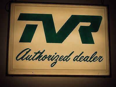 TVR Dealership Sign - Lighted - Two Sided