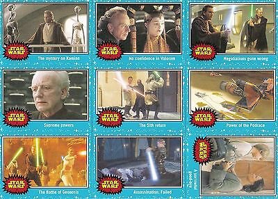 Star Wars Journey To The Force Awakens 2015 Topps Complete Base Card Set Of 110