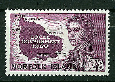 Norfolk Island 1960 Local Government Sg40  Mnh