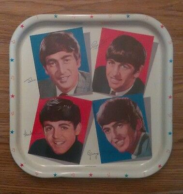 """""""The Beatles Tray"""" """"Made In Great Britain"""" 1964 original in near mint condition"""