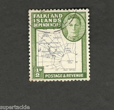 1948 Falkland Islands Dependencies SCOTT #1L1 Second Printing Θ used stamp