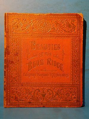 Beauties of the Blue Ridge Western Maryland RR Scenery 1800's HC 12 Pages