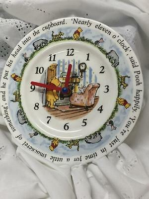 Winnie The Pooh Ceramic Wall Clock (ROYAL DOULTON)