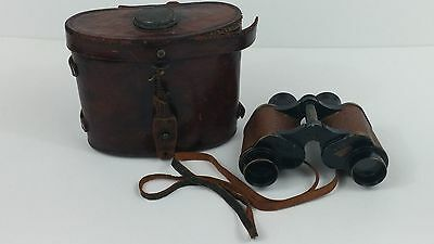 WWI US ARMY SIGNAL CORPS E Type Binoculars **PERSONALIZED** TALBOT REEL Low SN!