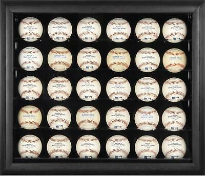 Black Framed 30 Baseball Display Case Fanatics Authentic Certified