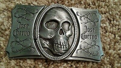 jose cuervo belt buckle by velvet messiah