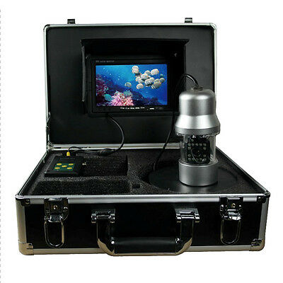 50m 7 Inch LCD Underwater Fish Finder Fishing Video Camera 360 Degree Rotation