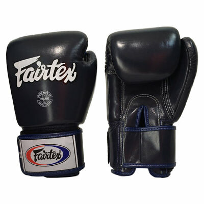 Fairtex BGV1 Tight Fit Universal Muay Thai / Boxing Gloves Blue