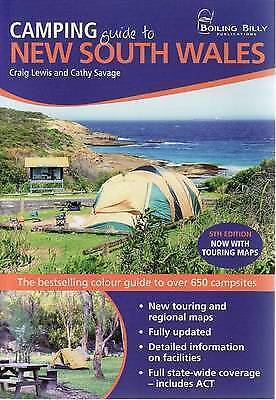 Boiling Billy Camping Guide to New South Wales Book NSW