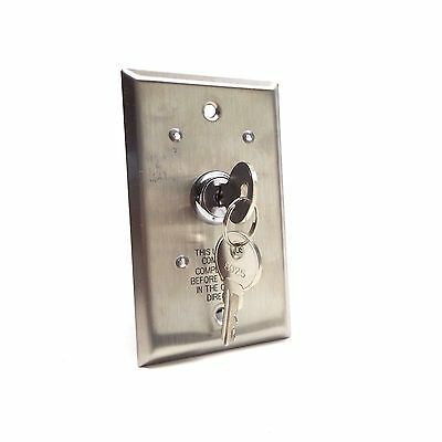 Tork Winch Single Switch Wall Mount Key Control For Series 16