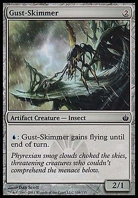 1x FOIL Skinwing Mirrodin Besieged MtG Magic Artifact Uncommon 1 x1 Card Cards