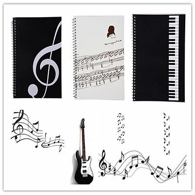 Music Manuscript Paper Staff Book Pad A4 Orchestral Musician Composer 100 Pages