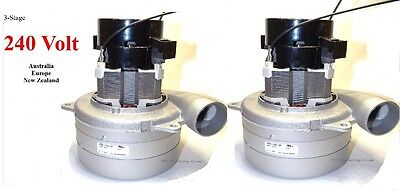 Carpet Cleaning 3-Stage Extractor Vacuum Motor 220 - 240 Volt  (Set of 2)