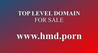 TOP LEVEL DOMAIN TLD...www.hmd.porn...the new video format of virtual reality