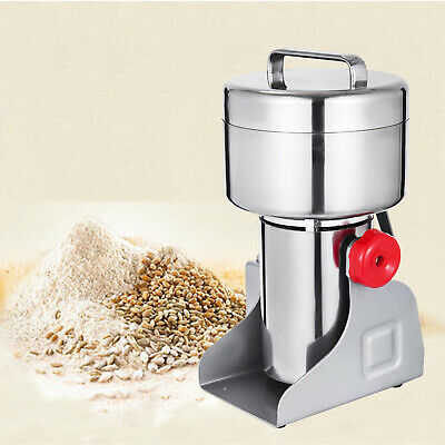500g Electric Herb Grain Mill Grinder Pepper Grinding Wheat Cereal Multifunction