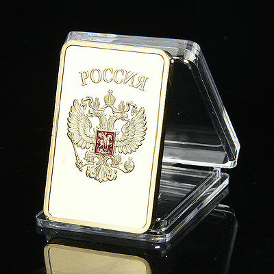 44MM CCCP Rectangular Party Emblem Commemorative Coins Collection Craft Gifts