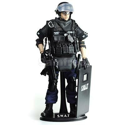 1/6 Scale Army Combat SWAT Solider Police Assaulter 12'' Action Figures Set